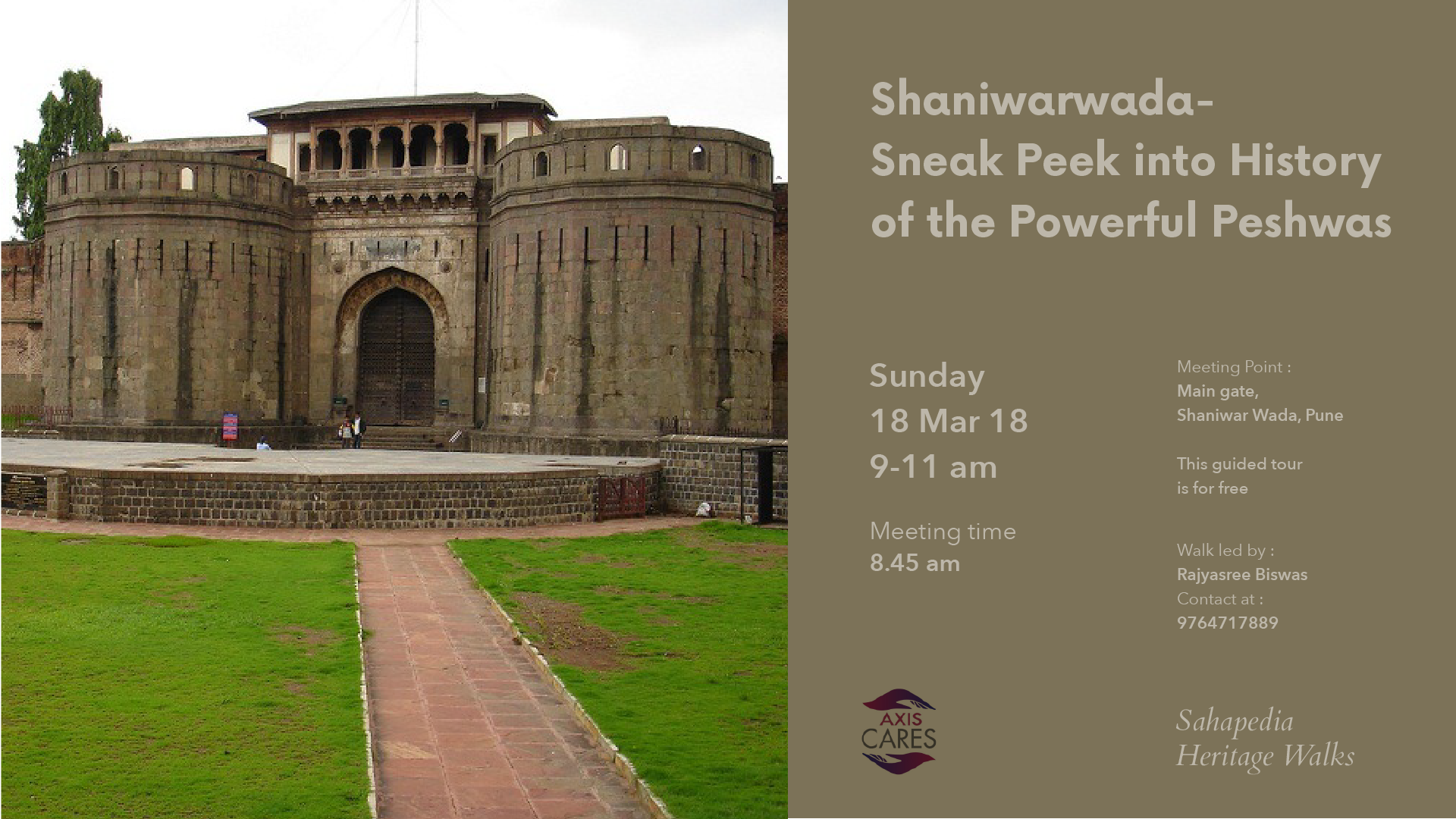 Sahapedia Heritage Walk Shaniwar Wada Sneak Peek Into