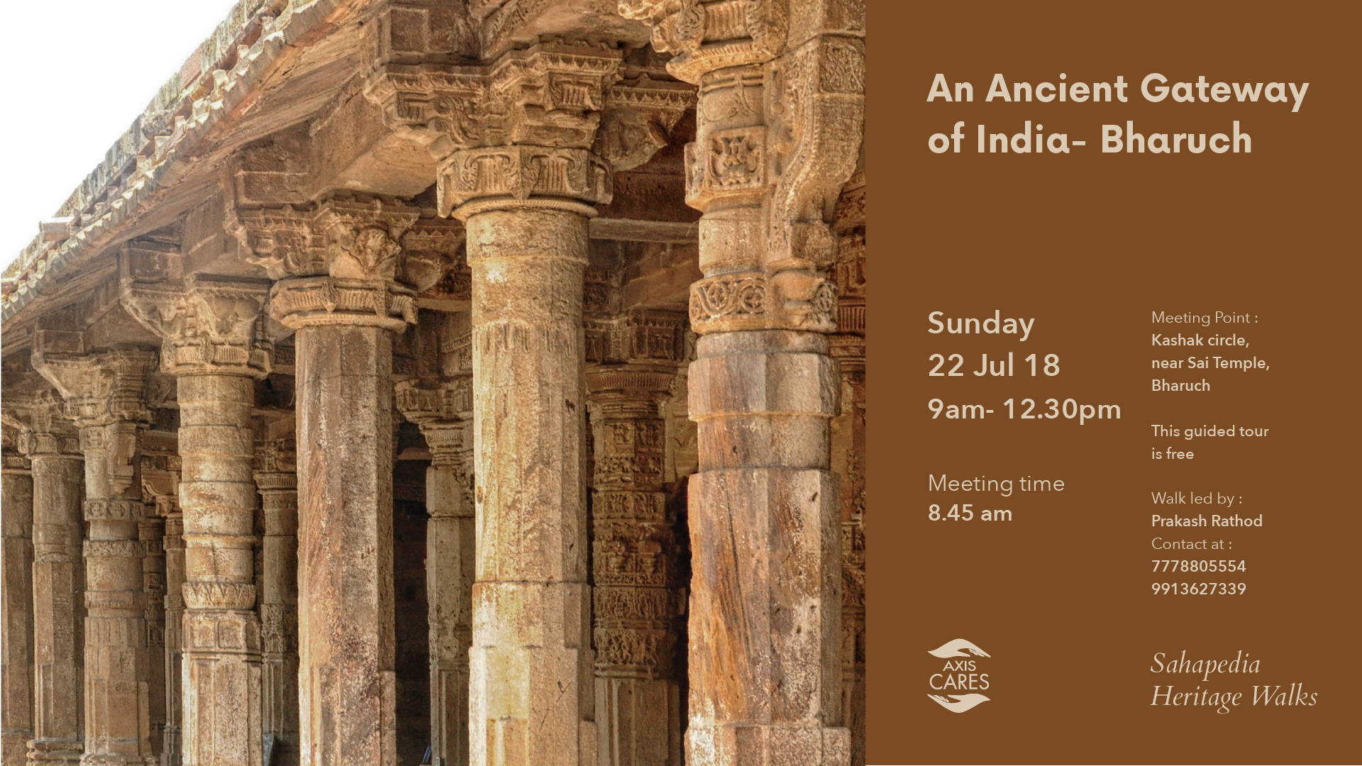 sahapedia heritage walk the ancient gateway of india bharuch