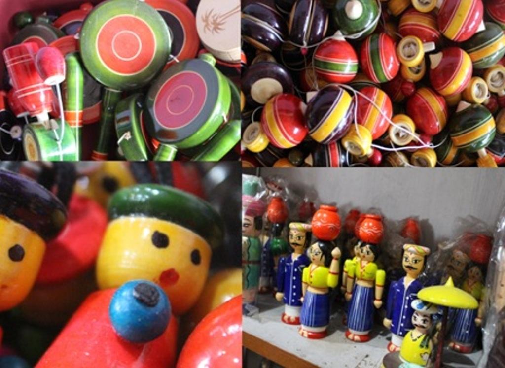 Channapatna Wooden Toys Sahapedia