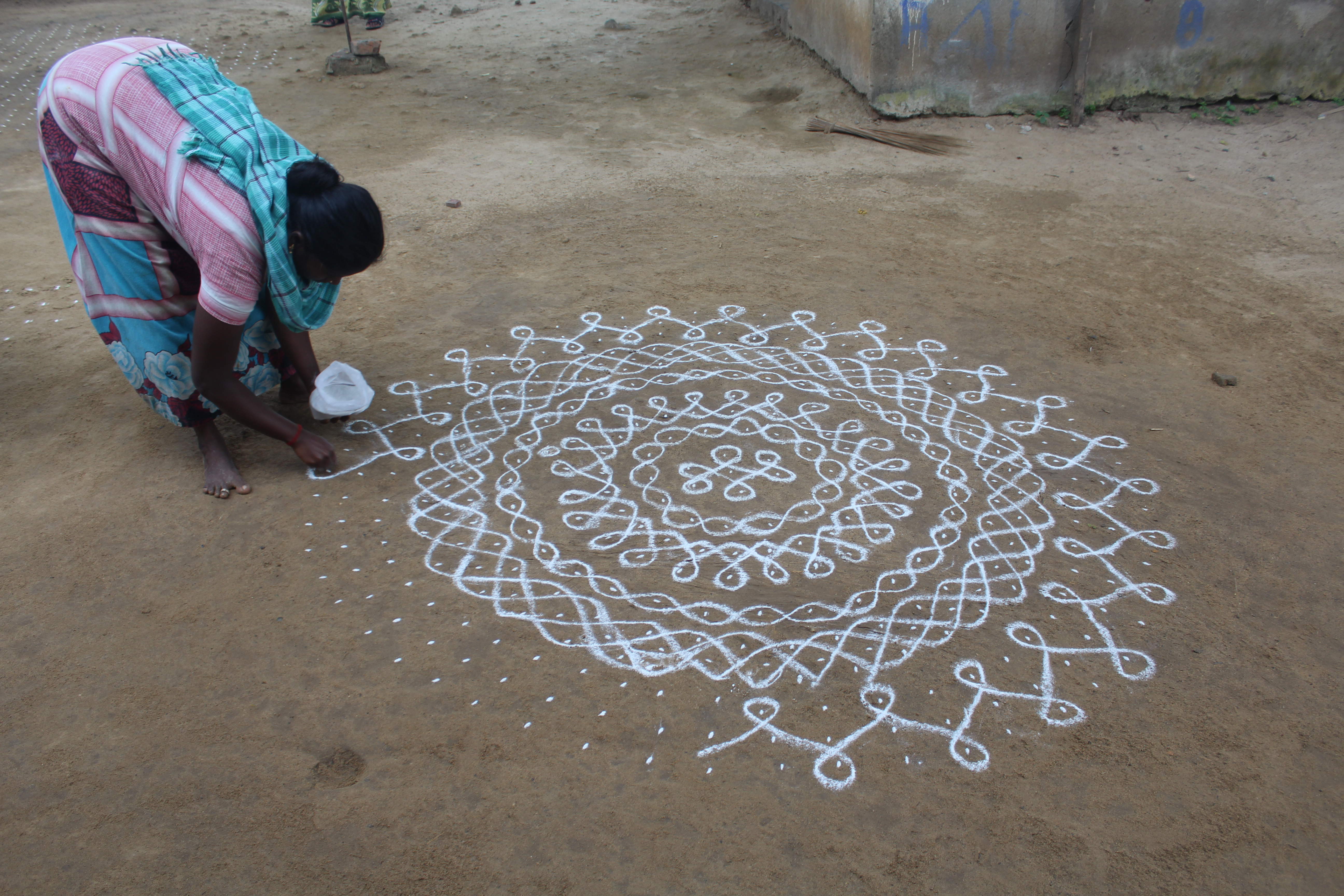 significance of kolam in tamil culture sahapedia