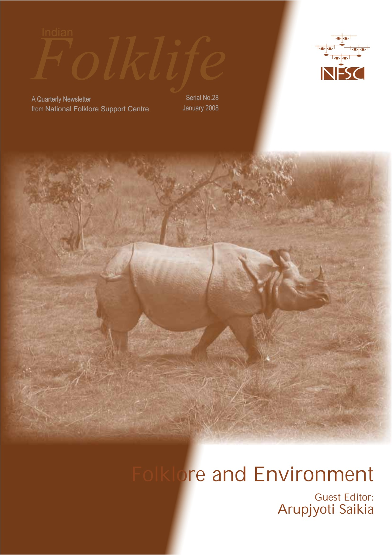 Indian Folklife, January 2008, 'Folklore and Environment'
