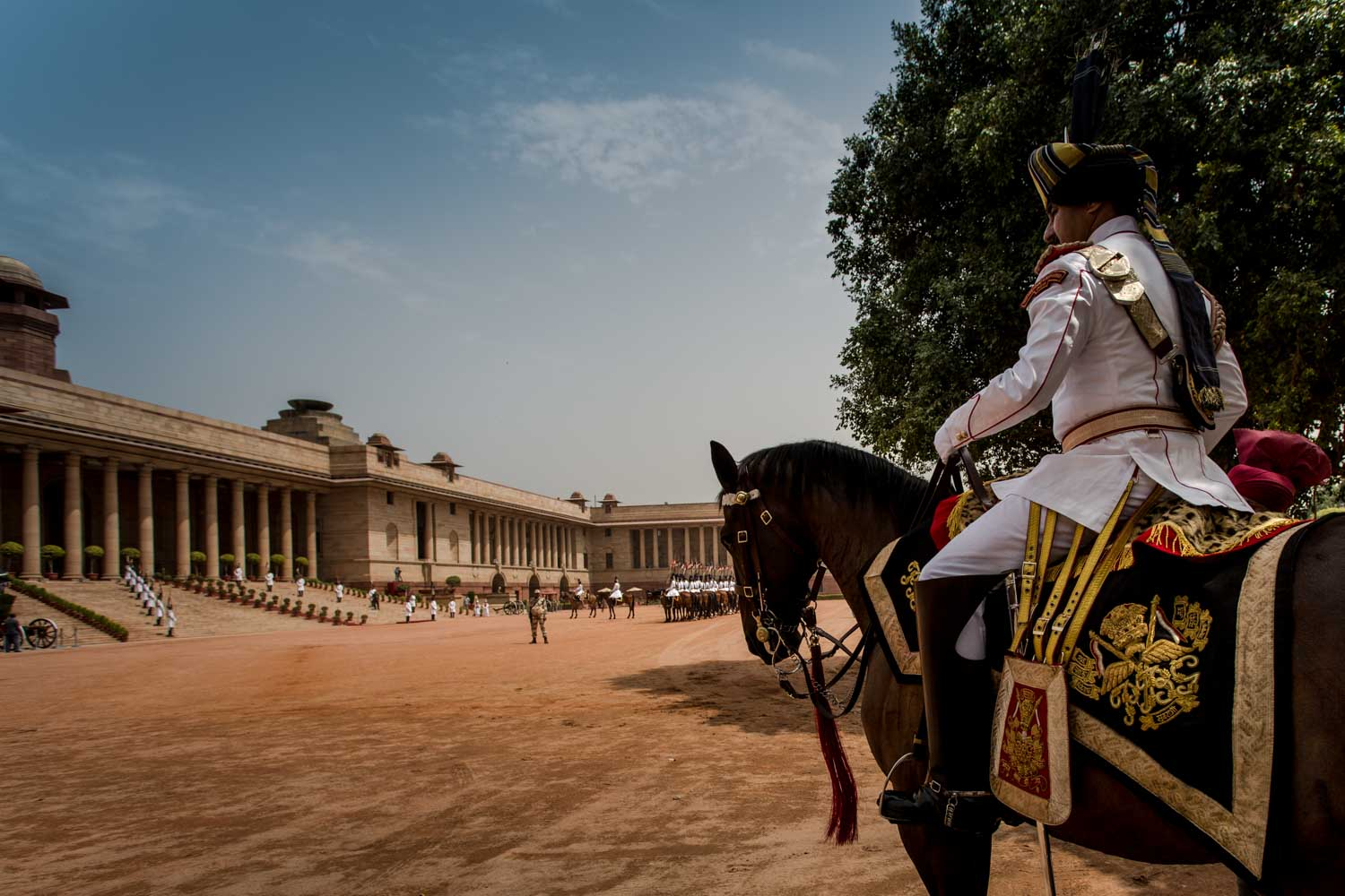 Rashtrapati Bhavan, Presidential Body Guard
