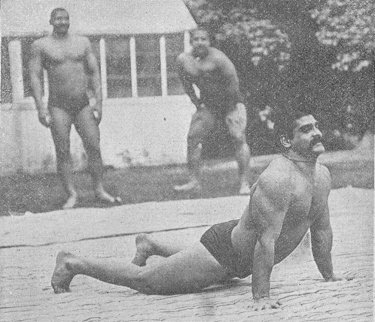 The Great Gama, Gobar Goho, Wrestling in India, Akhara, Pehelwan