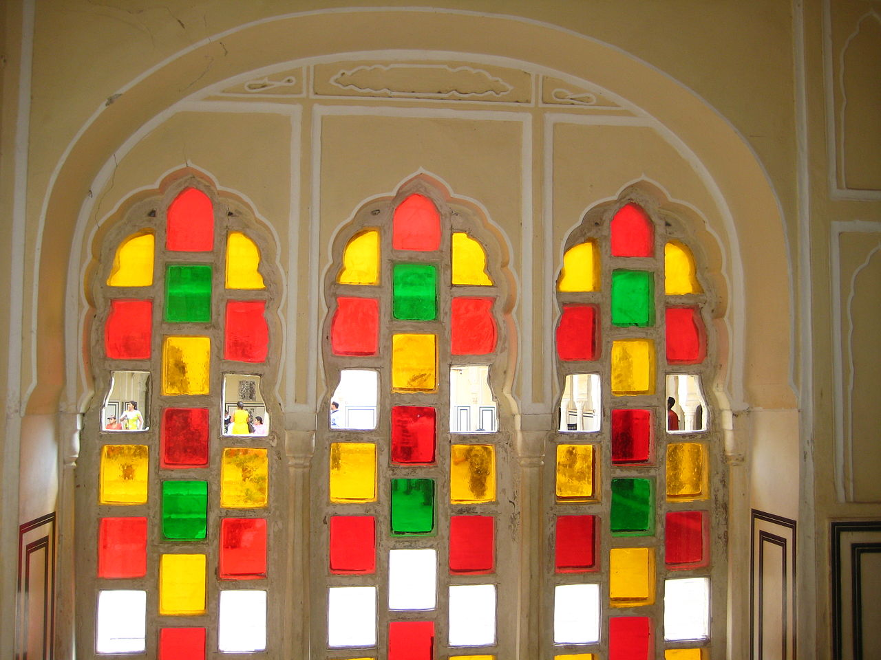 Hawa Mahal, Jaipur, Architecture, Maharaja Sawai Pratap Singh, Lal Chand Ustad, Stained Glass