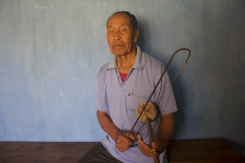 Namthiubuibou Daimei grew up in Thalluan village in Tamenglong district, Manipur, and currently resides in Happy Villa, a locality in main Tamenglong town.