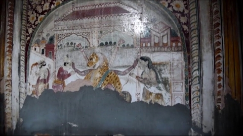 Embedded thumbnail for Mural Paintings of Jammu: Walk through the Burj Temple