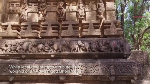 Embedded thumbnail for Aesthetics in Stone: The Bhoramdeo Temple Complex