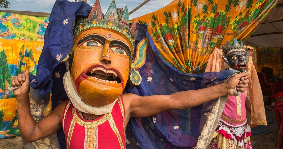 Gomira: Mask Dance of North Bengal | Sahapedia