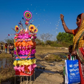 Tusu is a harvest festival celebrated by the Kurmi community of Chhota Nagpur Plateau in West Bengal and Jharkhand. (Courtesy: Pinki Biswas Sanyal)