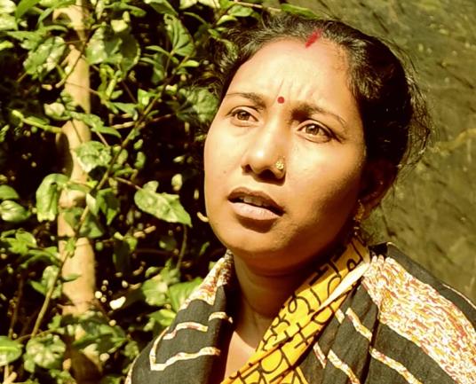 Rita Gure of Jafarpur Women's Fish Cooperative