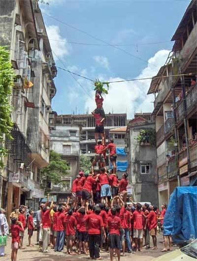Dahi Handi Celebrations, Mumbai