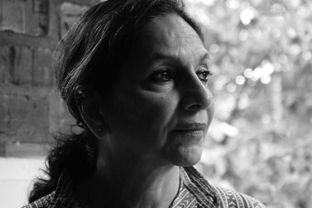 Veenapani Chawla (1947-2014), founder of Adishakti Theatre. (Courtesy: Adishakti Archives)
