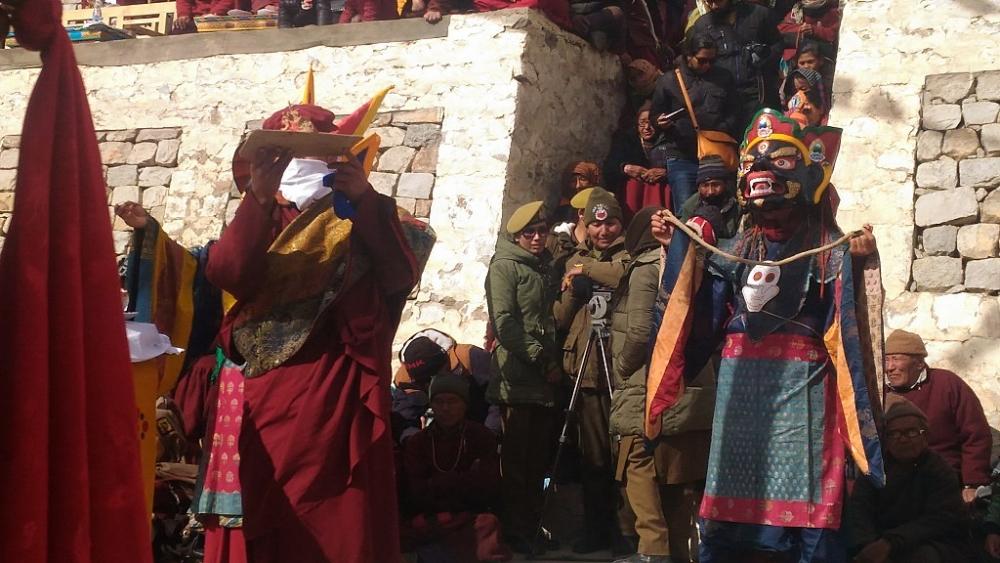 Cham Dance, Hemis Monastery