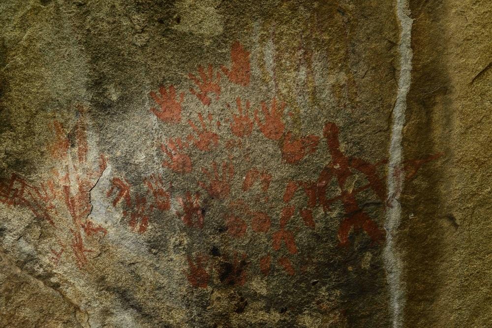 बालेराव, खैरखेड़ा के शैलचित्र