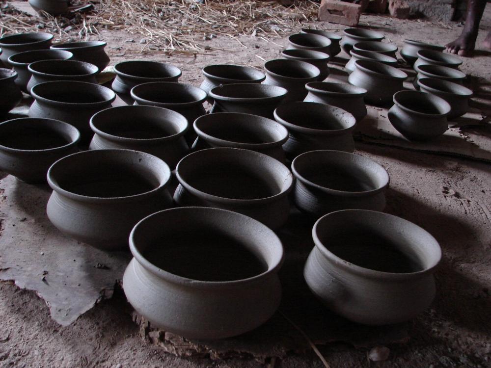 Terracotta utensils