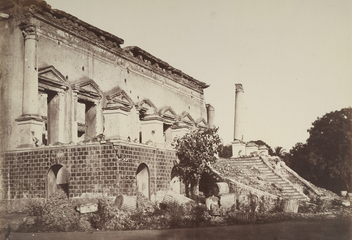 Bank of Delhi, Begum Samru's Haveli, Bhagirath Palace, 1857 Mutiny,