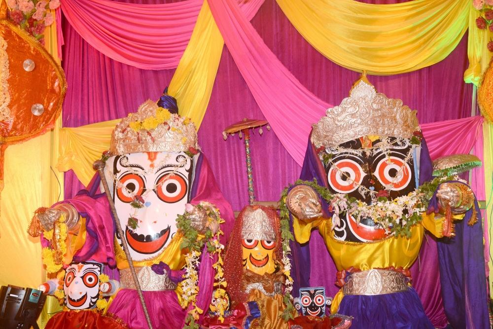 Jagannath, Balram and Subhadra