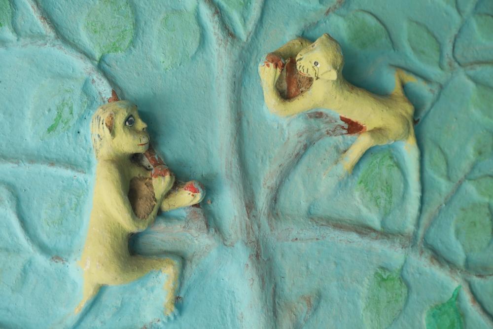 Sundari Bai Rajwar's clay work
