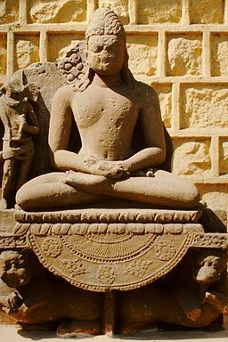 Buddha Statue, Sanchi Stupa