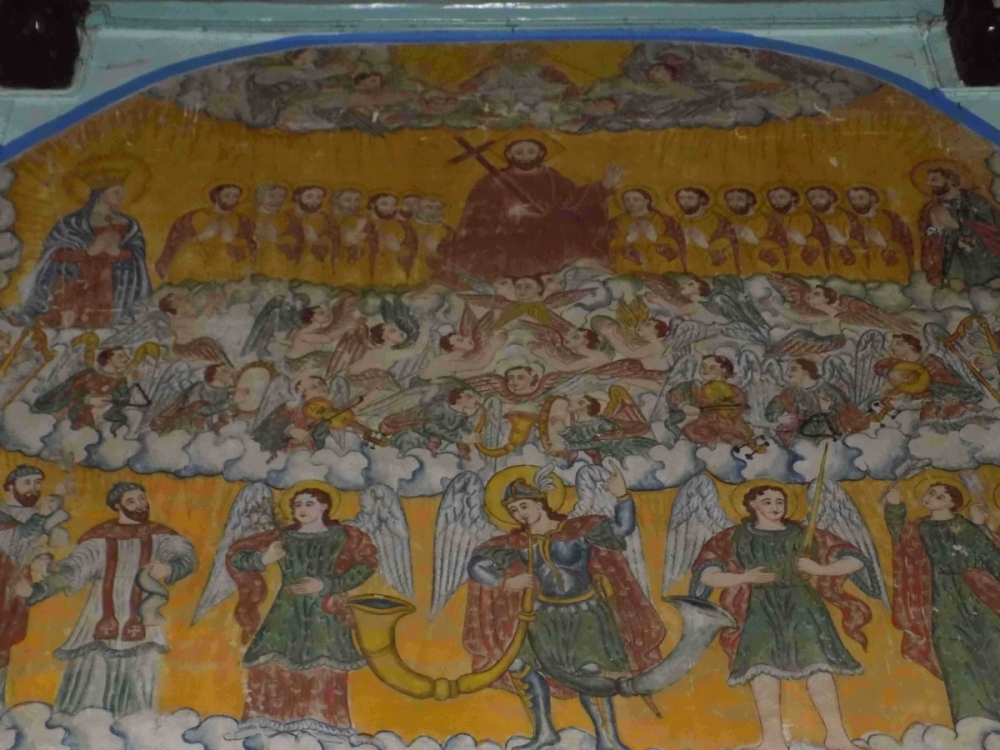 Fig. 6 Catholic chapels and churches in India have used murals extensively in their public display of faith.