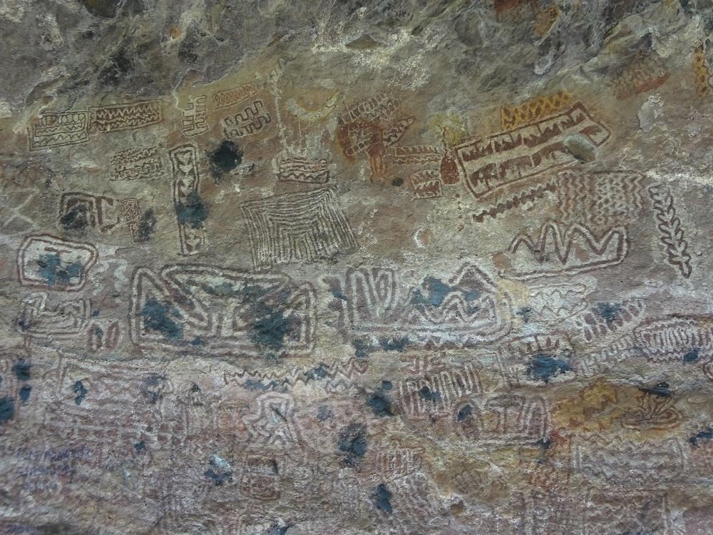 . उषाकोठी, करमागढ़ के शैलचित्र