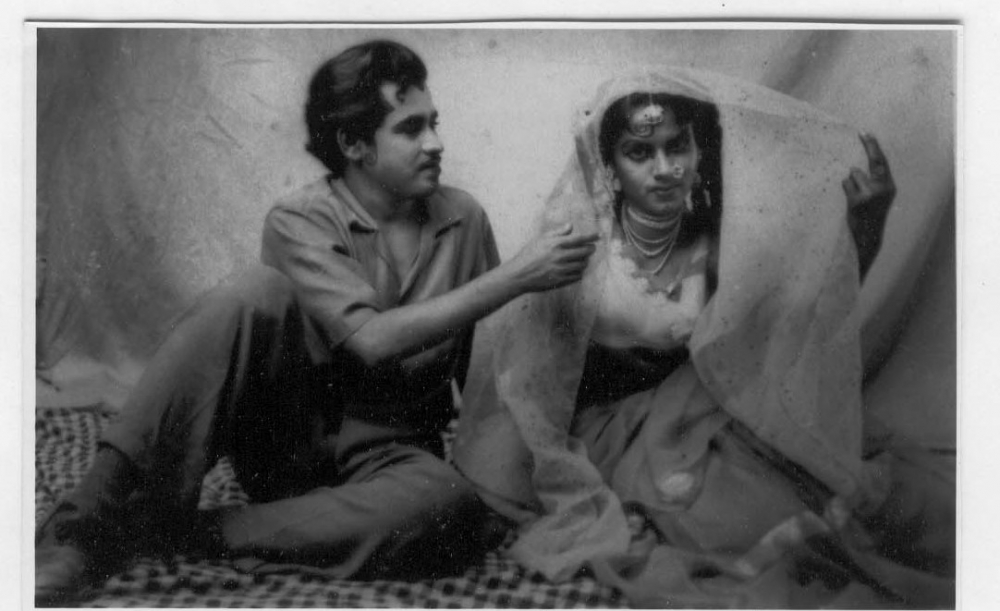 Fig. 7: Mona and a fellow-actor in the nautanki, Anarkali (Courtesy: Mona Devi).