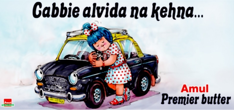 amul girl, indian advertising mascots, photo: amul.com