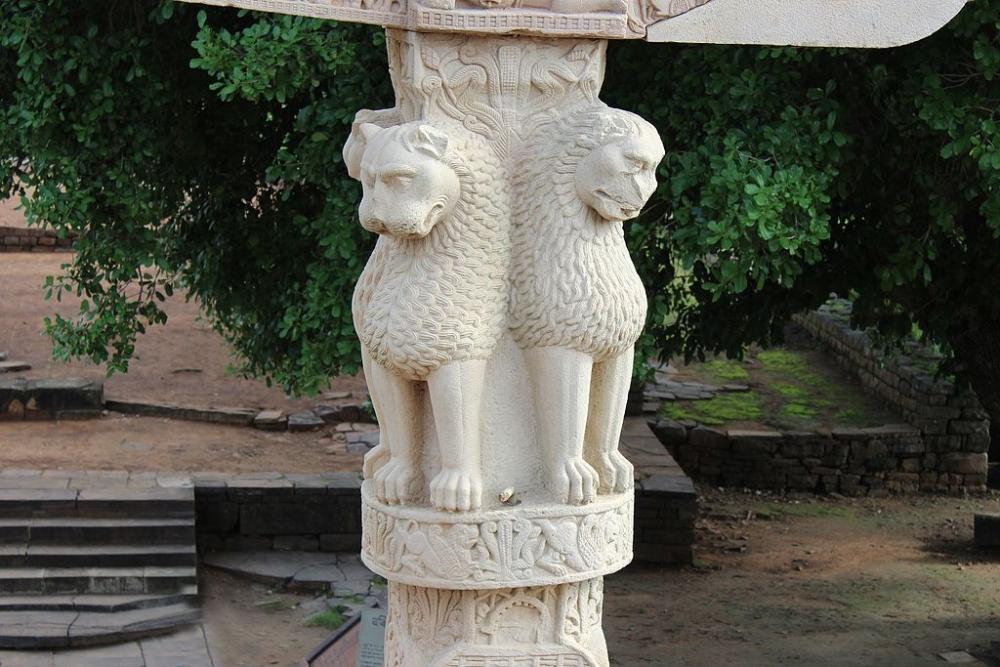 Ashoka Pillar, Sanchi Stupa