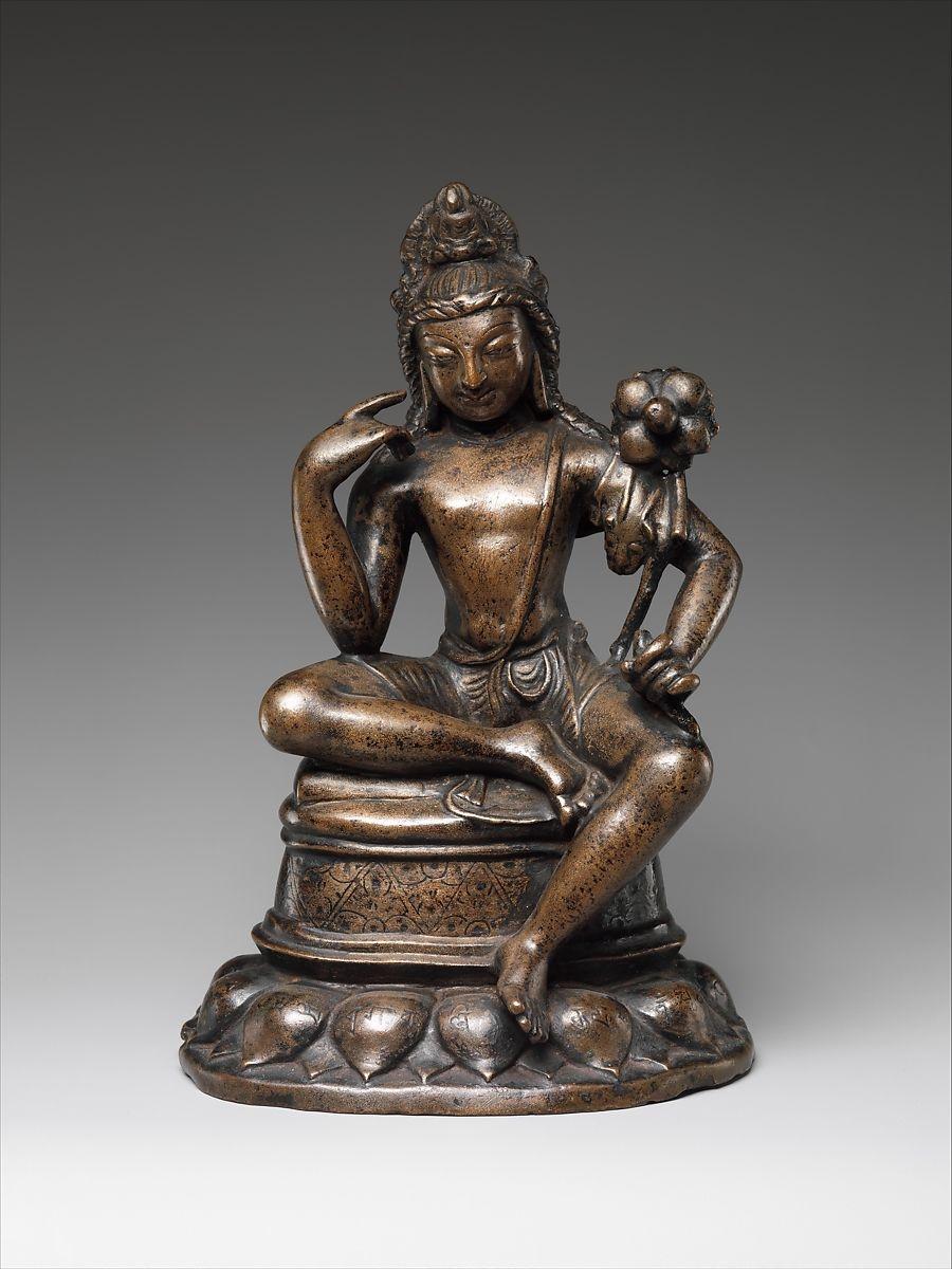 Avalokiteshvara Padmapani, 7th century
