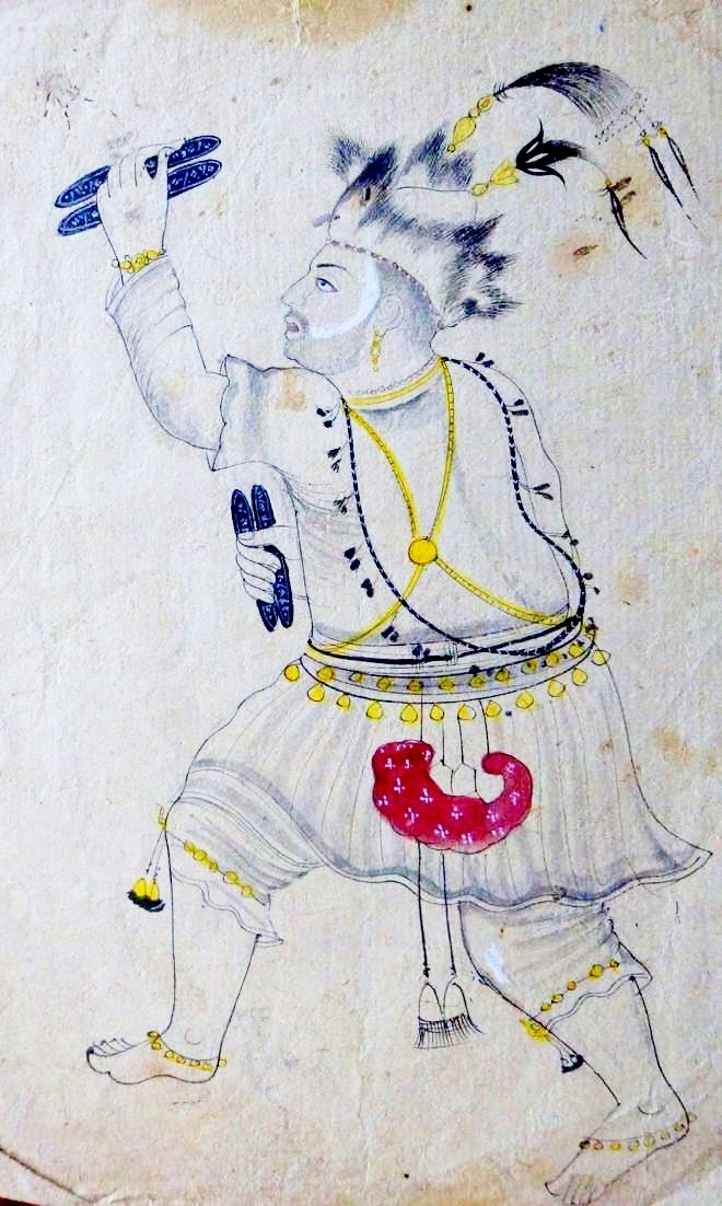 An Indian Dancing Devotee from Rajasthan, Courtesy: The Tribune
