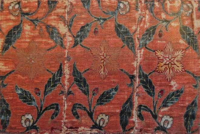 BNG_Fragment of a carpet border (Courtesy: The Tribune)