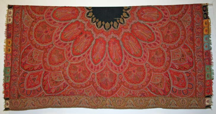 Kashmiri shawl from the 1950s, Courtesy: Wikimedia Commons