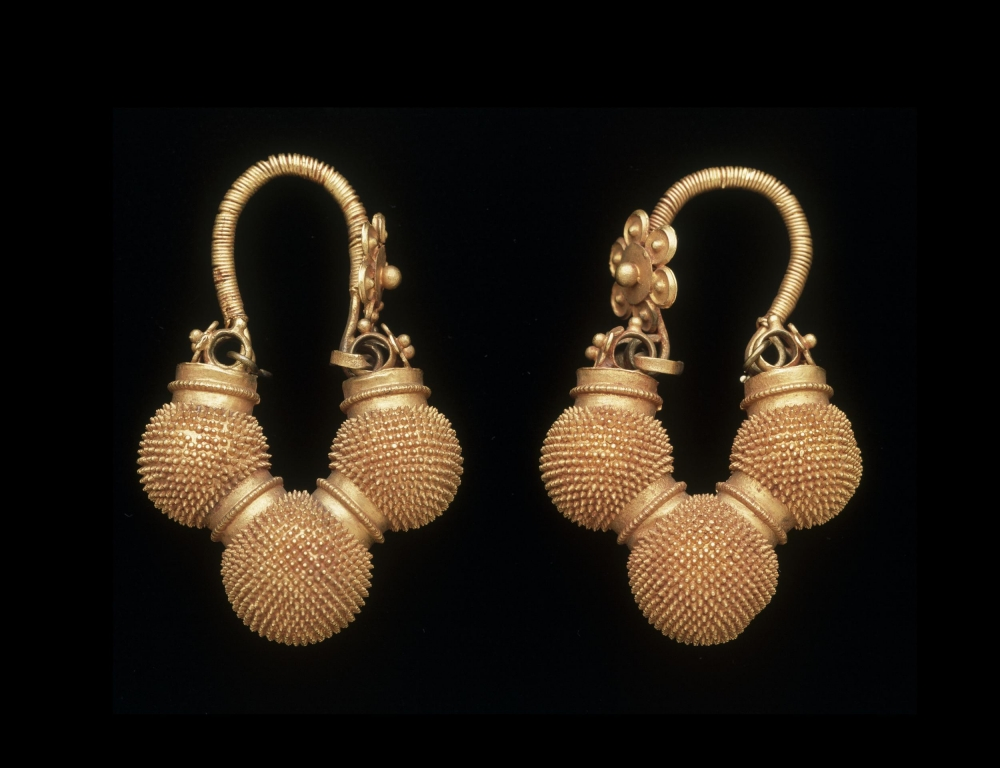 Babul, or 'thorns', is the spiky golden ball that can be seen on this set currently in the Victoria and Albert Museum, London