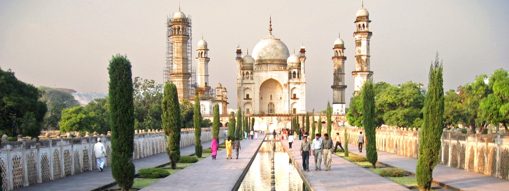 Bibi ka maqbara, Aurangabad, Courtesy: Sanjay Acharya/Wikimedia Commons