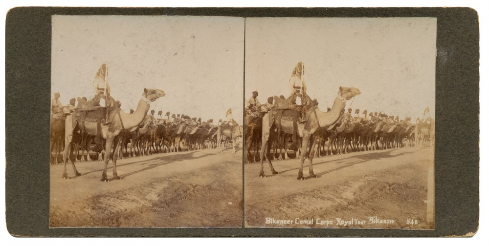 Bikaner Camel Corps Royal Tour in June 1905_Wikimedia Commons