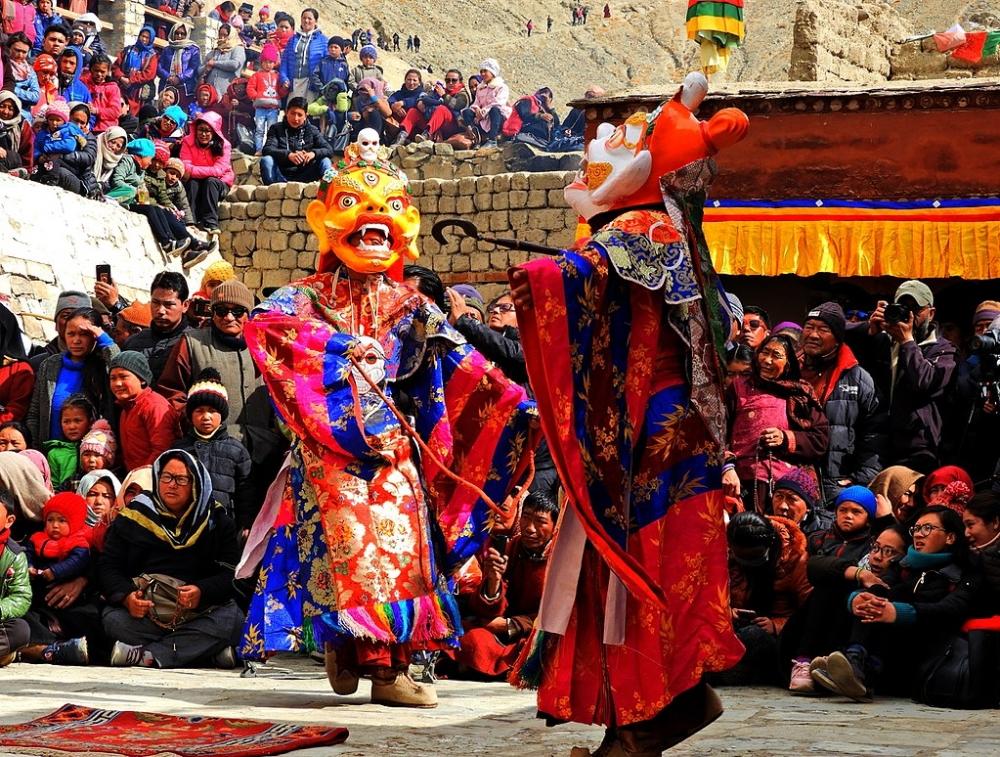 Cham Dance, Hemis Monastery,