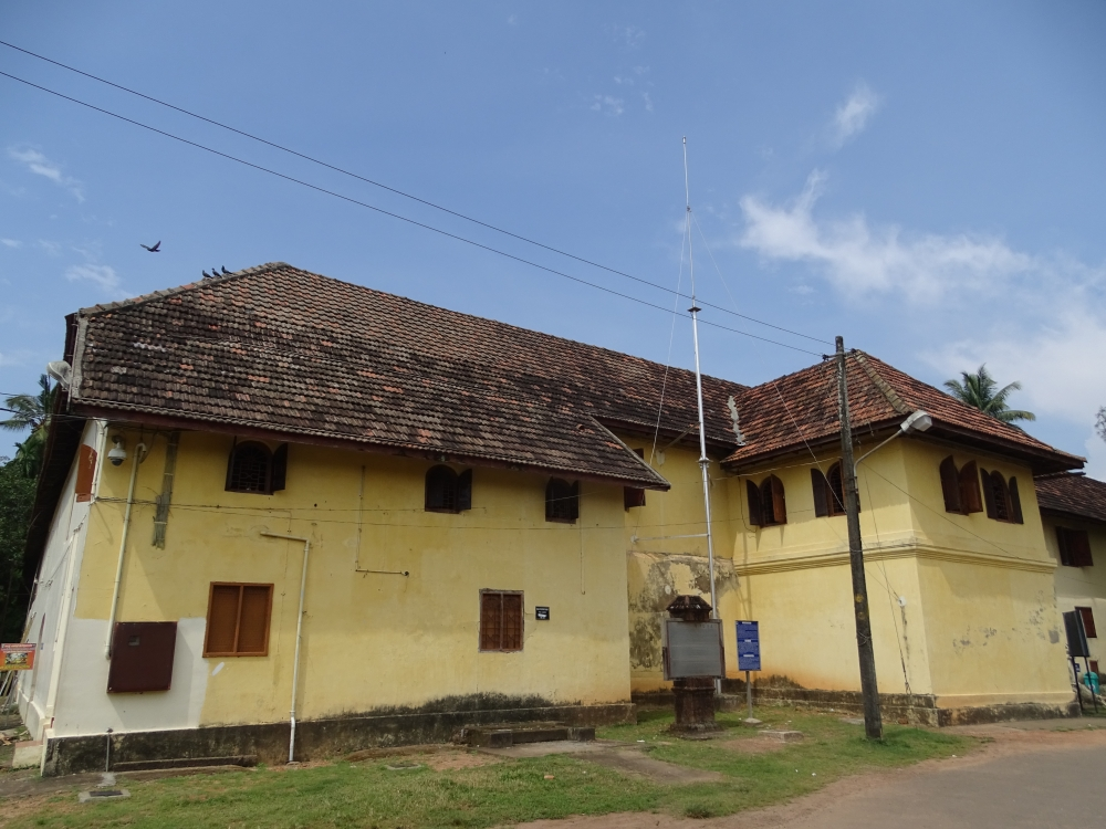 The Dutch Palace, Mattancherry, Kochi. Image Courtesy: Sudheer Kailas.