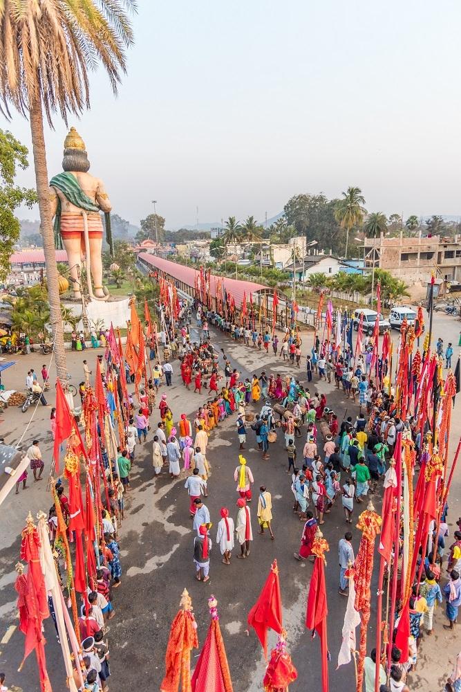 Procession of Danteshwari and other village deities