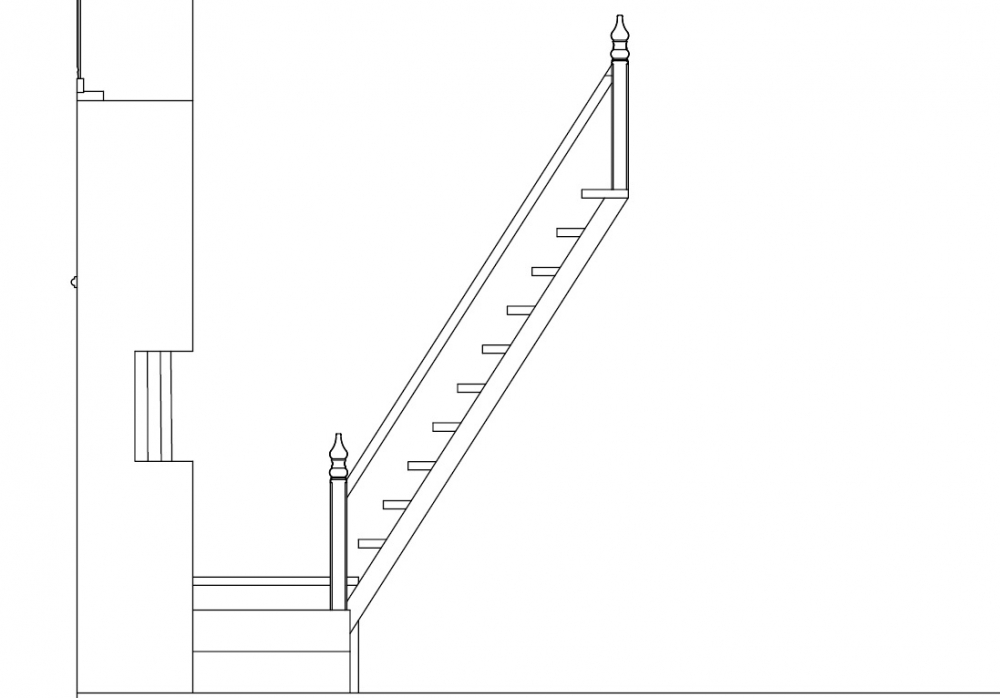 Stairs of Chendamangalam Synagogue