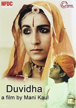 A poster of the film Duvidha