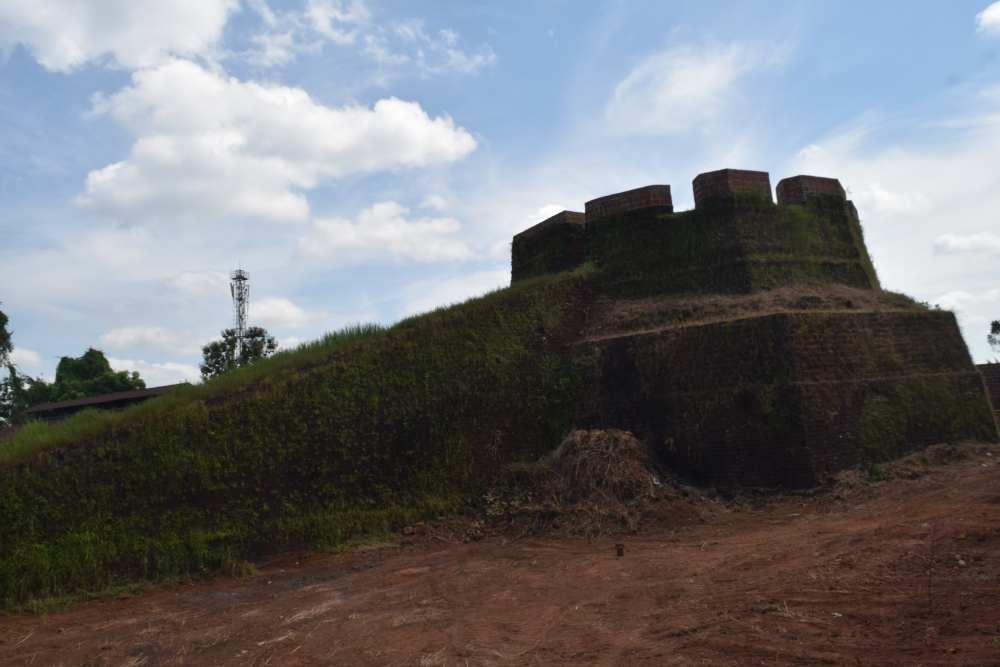 Aarikkadi Fort, Kasaragod