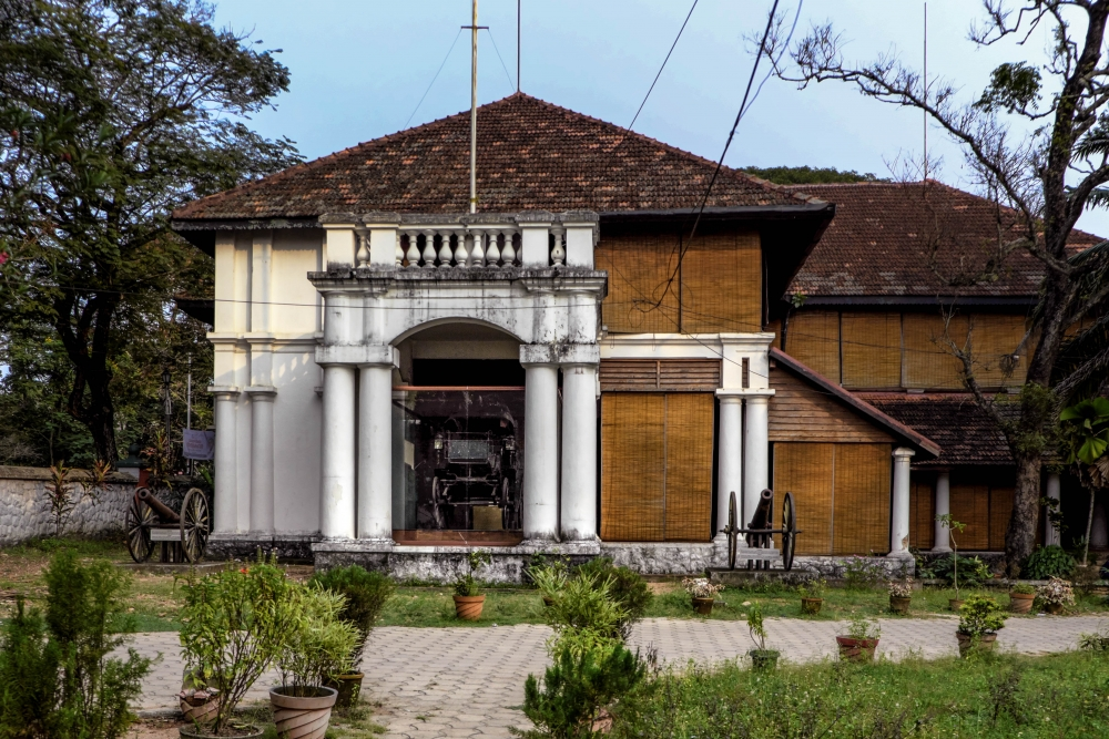 Fig. 6. Park View Bungalow opposite Museum Complex, Thiruvananthapuram, originally a government official residence, now used by the Kerala Museum of History and Heritage (Courtesy: Amiya Jemeemah Hisham)
