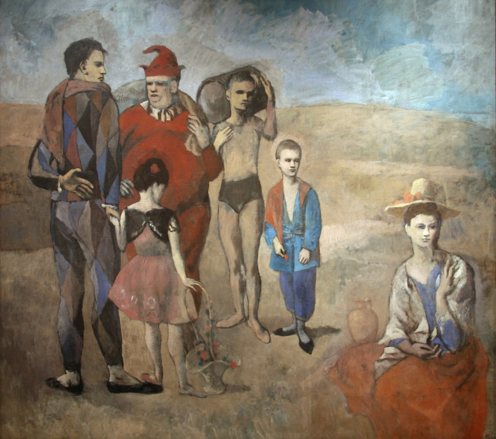'Family of Saltimbanques' by Pablo Picasso (Courtesy: Cliff/Flickr under CC BY 2.0)