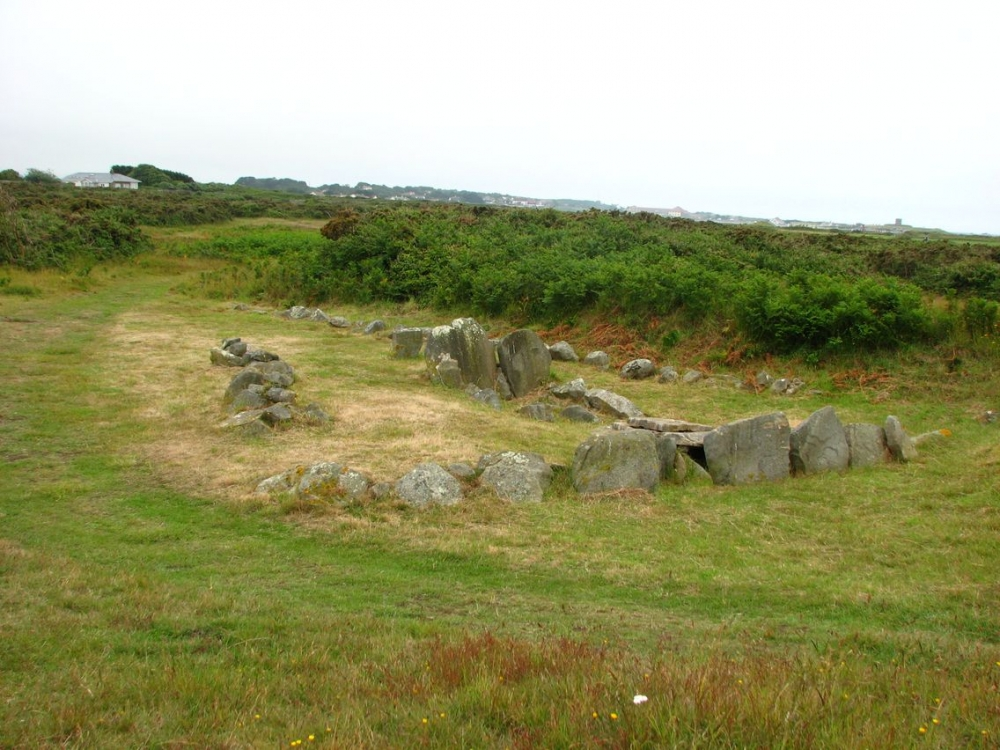 Passage Grave Guernsey Channel Islands