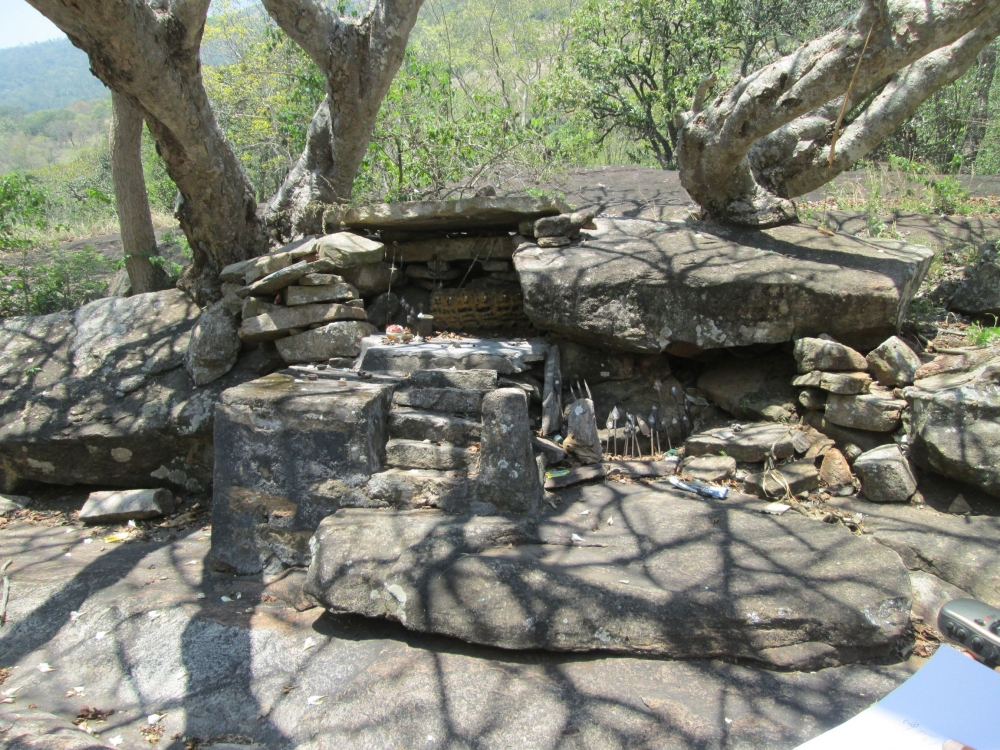 Kannimara Dolmen cum Shrine, Idukki District, Courtesy: Varghese 2015