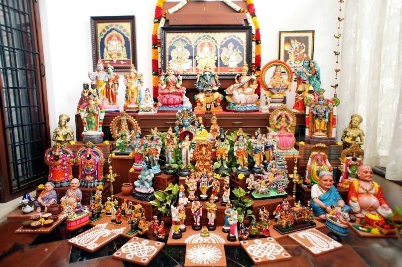 Dolls That Are Worshipped: Golu Dolls of Tanjore   Sahapedia