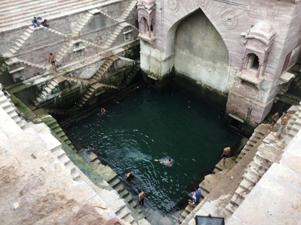 Fig 3: Tunwarji Ka Jhalra in Jodhpur