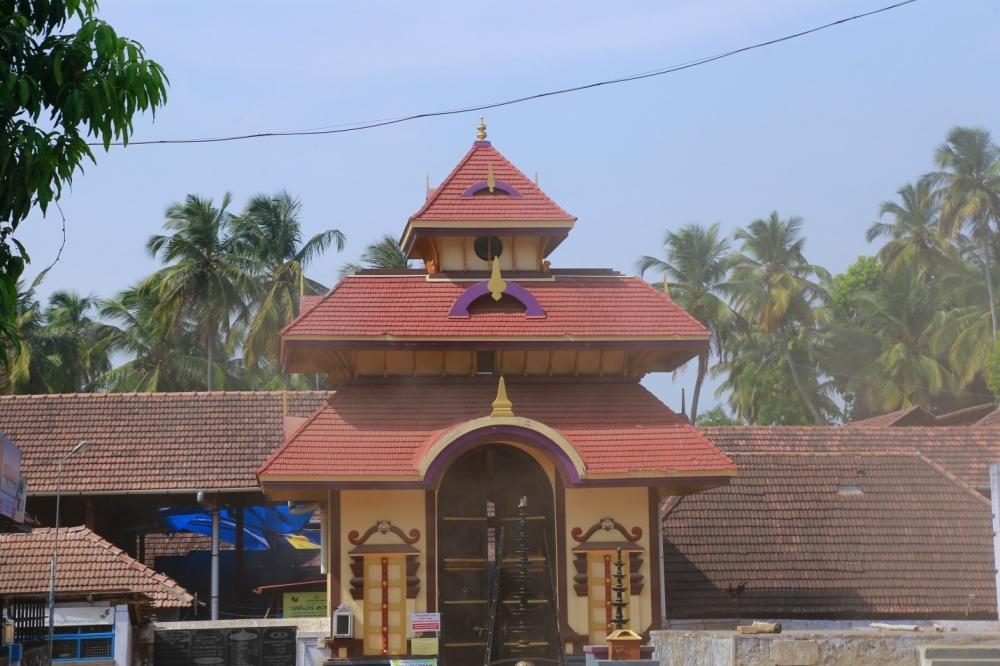 Pazhayannur temple, Chelakkara, Thrissur. Image Courtesy: Sudheer Kailas.