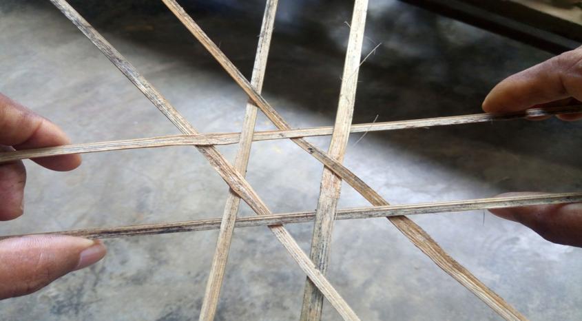 Fig. 9: Open hexagonal pattern. Courtsey: Akhyai Jyoti Mahanta