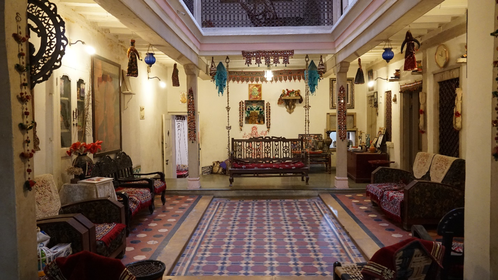 Fig. 9: An interior view of Jagdip Mehta's heritage homestay. (Courtesy: Ashna Patel)